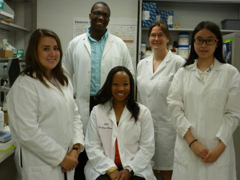 Simons Burnett Lab Members